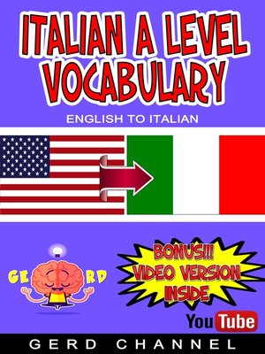 cover image of Italian a Level Vocabulary