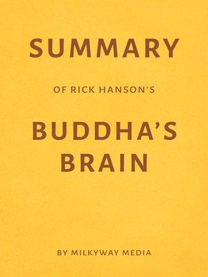 cover image of Summary of Rick Hanson's Buddha's Brain