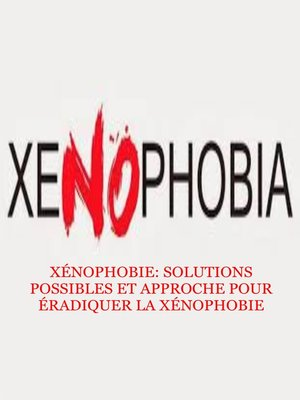 cover image of XÉNOPHOBIE