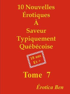 cover image of Érotica Ben le septième