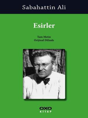 cover image of Esirler