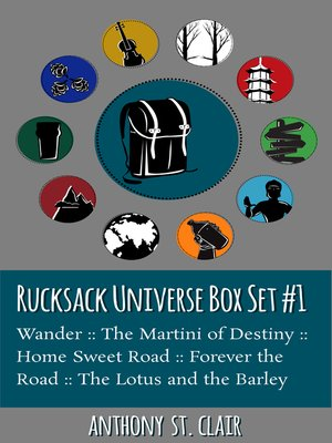 cover image of Rucksack Universe Box Set #1
