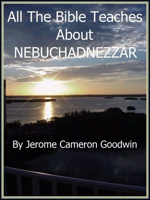 cover image of NEBUCHADNEZZAR