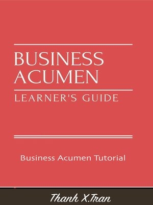 cover image of Business Acumen