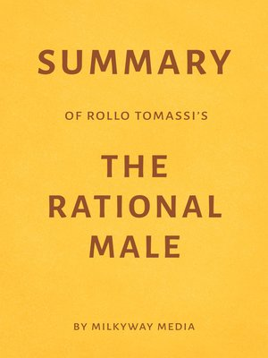 cover image of Summary of Rollo Tomassi's the Rational Male