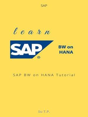cover image of Learn SAP BW on HANA