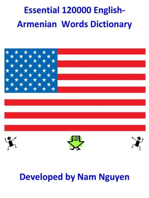 cover image of Essential 120000 English-Armenian  Words Dictionary