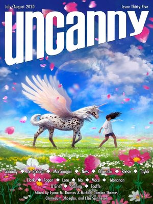 cover image of Uncanny Magazine Issue 35