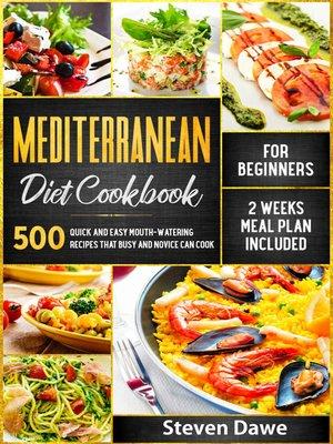 cover image of Mediterranean Diet Cookbook for Beginners