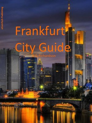 cover image of Frankfurt City Guide