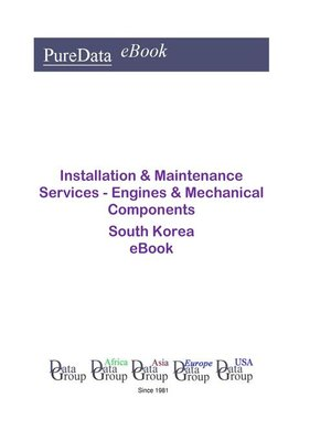 cover image of Installation & Maintenance Services--Engines & Mechanical Components in South Korea