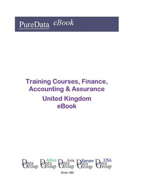 cover image of Training Courses, Finance, Accounting & Assurance in the United Kingdom