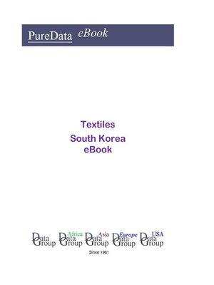 cover image of Textiles in South Korea