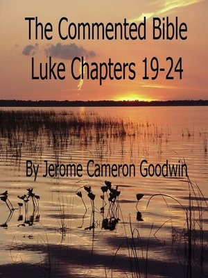 cover image of Luke Chapters 19-24