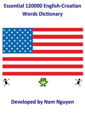 cover image of Essential 120000 English-Croatian  Words Dictionary