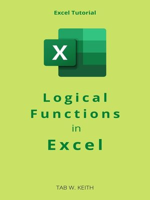 cover image of Logical Functions in Excel