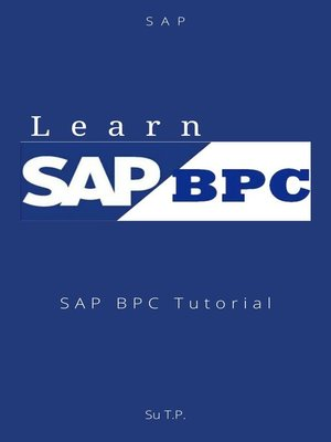 cover image of Learn SAP BPC