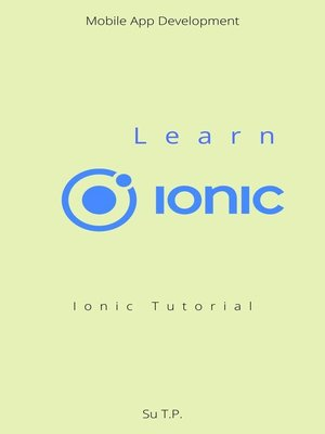 cover image of Learn Ionic