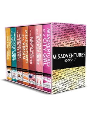 cover image of Misadventures Series Anthology Books 1-7