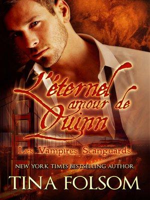 cover image of L'éternel amour de Quinn