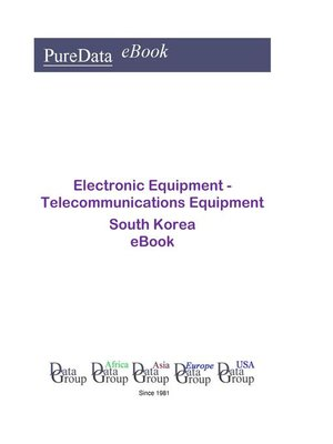 cover image of Electronic Equipment--Telecommunications Equipment in South Korea