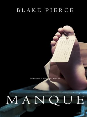cover image of Manque
