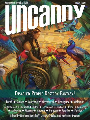 cover image of Uncanny Magazine Issue 30