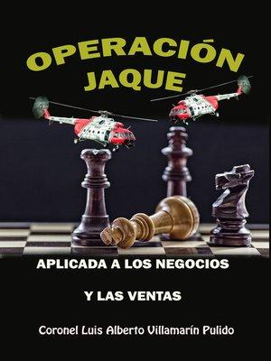 cover image of Operación Jaque