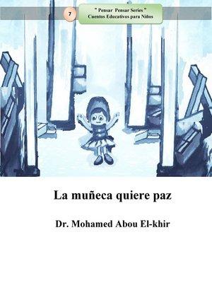 cover image of La muñeca quiere paz
