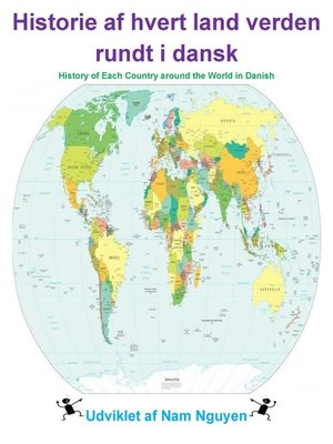 cover image of Historie af hvert land verden rundt i dansk