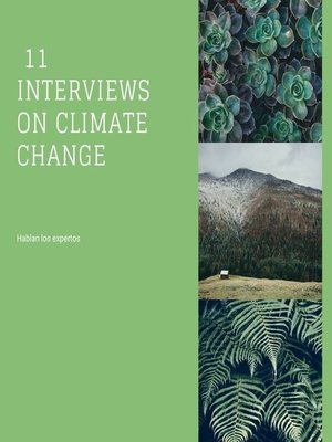 cover image of 11 interviews on climate change