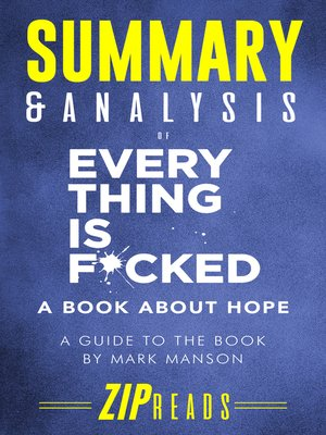 cover image of Summary & Analysis of Everything Is F*cked
