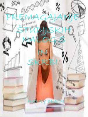 cover image of PREMAGAJANJE ŠTUDIJSKIH NALOG S