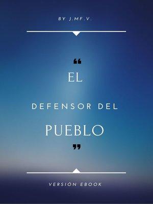 cover image of Organización y Funcionamiento del Defensor del Pueblo