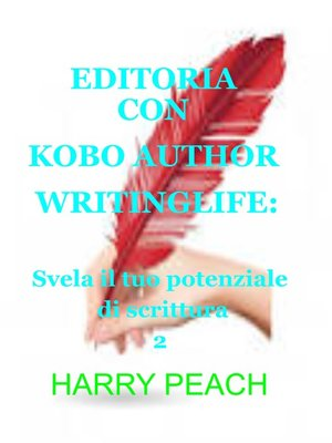 cover image of EDITORIA CON KOBO AUTHOR WRITINGLIFE