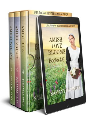 cover image of Amish Love Blooms Boxed Set Books 4--6