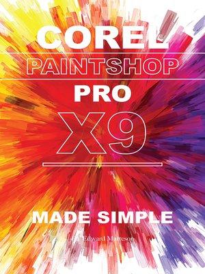 cover image of Corel Paintshop Pro X9