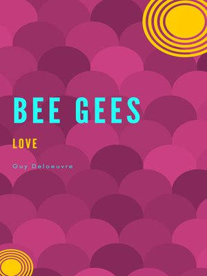 cover image of Bee Gees