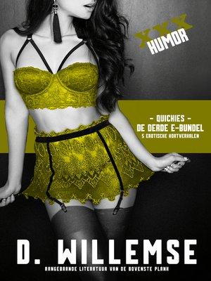 cover image of De Derde E-bundel: Aangebrande literatuur van de bovenste plank