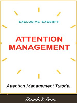 cover image of Attention Management