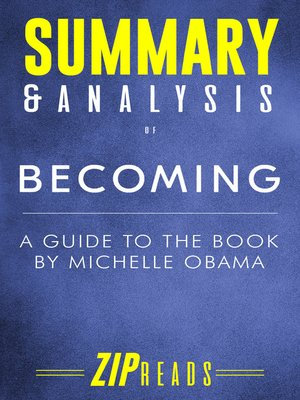cover image of Summary & Analysis of Becoming