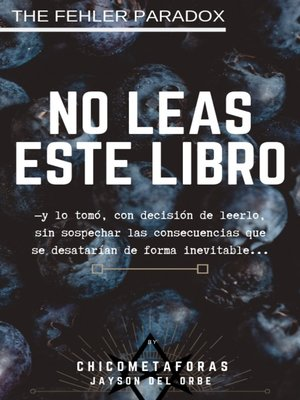 cover image of NO LEAS ESTE LIBRO