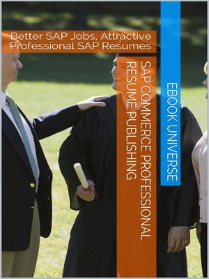 cover image of SAP Commerce Professional Resume Publishing
