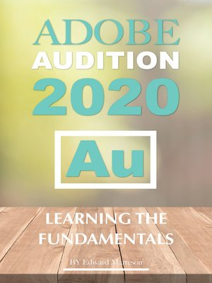 cover image of Adobe Audition 2020