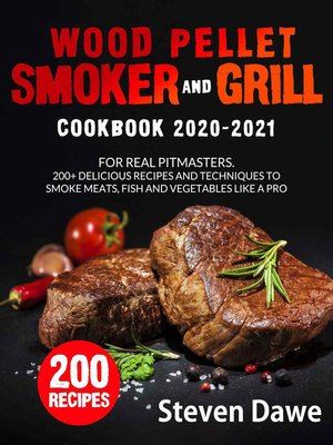 cover image of Wood Pellet Smoker and Grill Cookbook 2020--2021