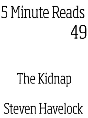 cover image of The Kidnap