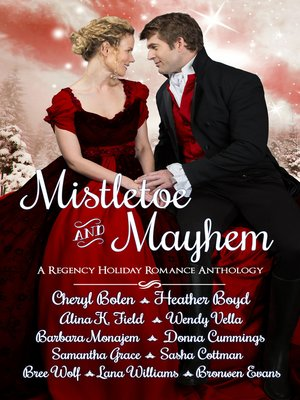 cover image of Mistletoe and Mayhem
