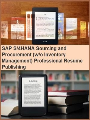 cover image of SAP S/4HANA Sourcing and Procurement