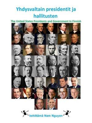 cover image of Yhdysvaltain presidentit ja hallitusten