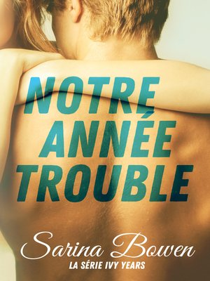 cover image of Notre Année Trouble